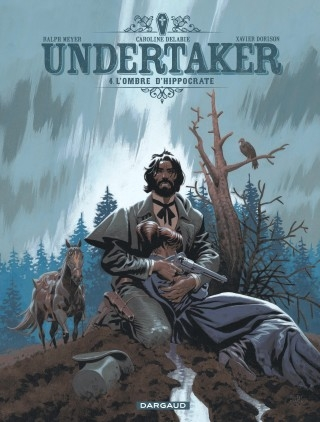 Couverture Undertaker, tome 4 : L'ombre d'Hippocrate
