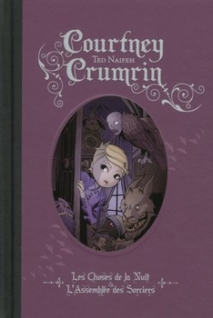 Couverture Courtney Crumrin, intégrale, tome 1