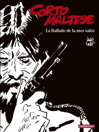 Couverture Corto Maltese, tome 01 : La ballade de la mer salée