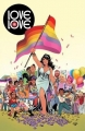 Couverture Love is love Editions Bliss Comics 2017