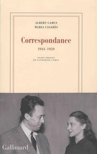 663c69b0cb7 Couverture Correspondance   1944-1959 Editions Gallimard (Blanche) 2017