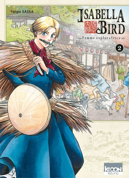 Couverture Isabella Bird : Femme exploratrice, tome 2