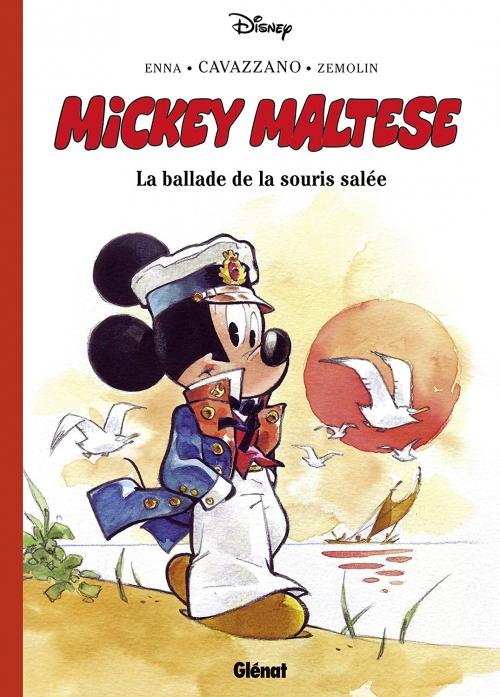 Couverture Mickey Maltese : La ballade de la souris salée