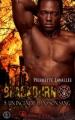 Couverture Blackburn, tome 5 : Un incendie dans son sang Editions Sharon Kena (Éros) 2017