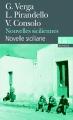 Couverture Nouvelles siciliennes Editions Folio  (Bilingue) 2011