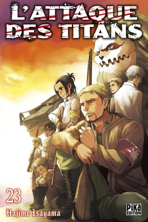 Couverture L'attaque des Titans, tome 23