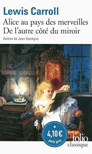 Couverture Alice au pays des merveilles, Alice à travers le miroir