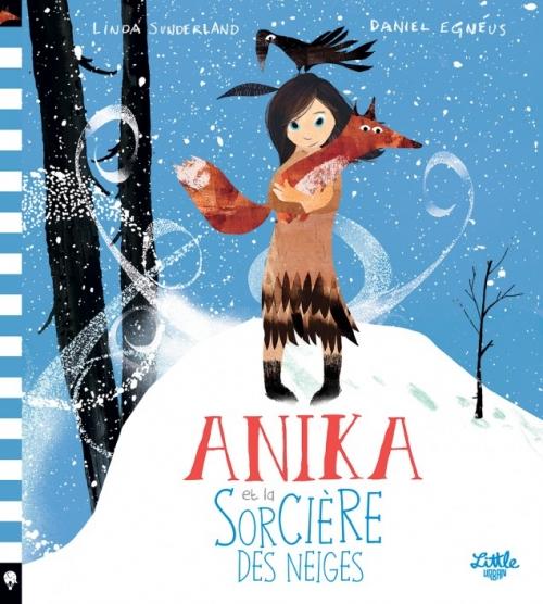 Couverture Anika et la sorcière des neiges