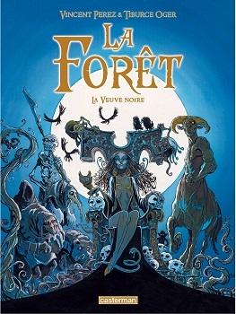 Couverture La forêt, tome 4 : La veuve noire