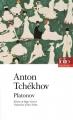 Couverture Platonov Editions Folio  (Théâtre) 2015