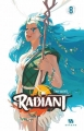 Couverture Radiant, tome 08 Editions Ankama 2017