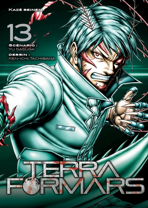 Couverture Terra Formars, tome 13