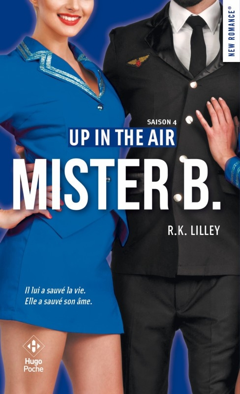 Couverture En l'air / Up in the air, tome 4 : Mister B
