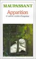 Couverture Apparition et autres contes d'angoisse Editions Flammarion (GF) 1987