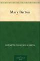Couverture Mary Barton Editions A Public Domain Book 2015