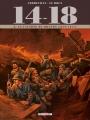 Couverture 14-18, tome 08 : La caverne du dragon (juin 1917) Editions Delcourt (Histoire & histoires) 2017