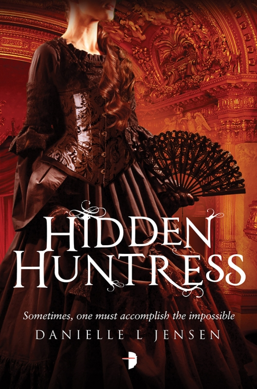 Couverture The Malediction Trilogy, book 2: Hidden Huntress