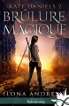 Couverture Kate Daniels, tome 2 : Brûlure magique Editions Infinity (Urban fantasy) 2017
