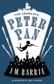 Couverture Peter Pan (roman) Editions Alma Books 2015