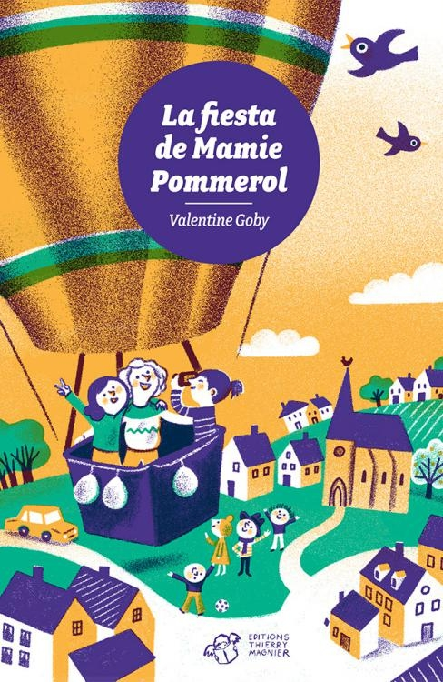Couverture La fiesta de mamie Pommerol