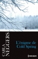 Couverture L'énigme de Cold Spring Editions Harlequin 2017