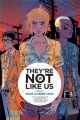 Couverture They're not like us, tome 2 : Nous contre vous Editions Jungle ! 2017