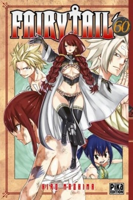 Couverture Fairy tail, tome 60