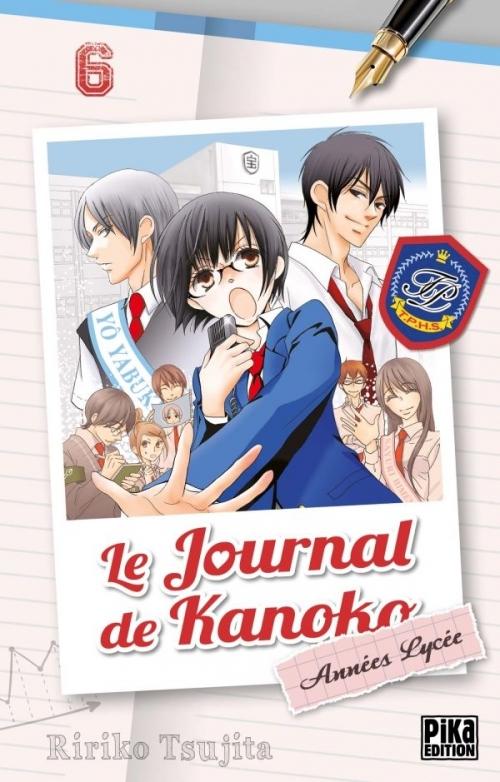 Couverture Le journal de Kanoko : Années lycées, tome 06