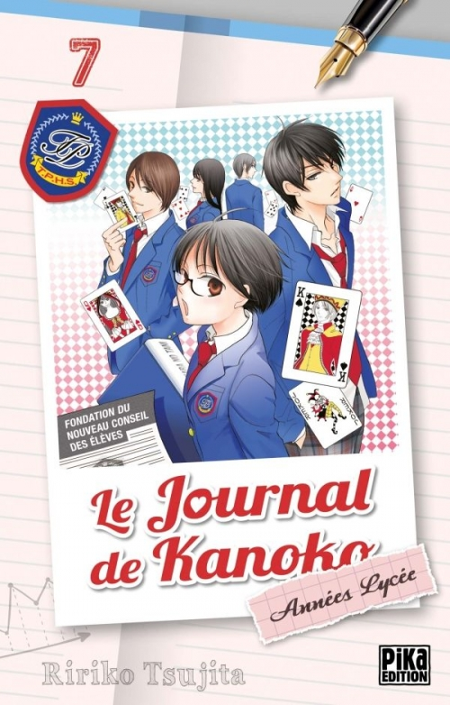 Couverture Le journal de Kanoko : Années lycées, tome 07