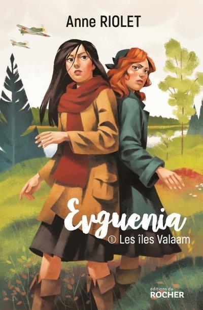Couverture Evguenia, tome 1 : Les îles Valaam