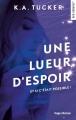 Couverture Une lueur d'espoir Editions Hugo & cie (New romance) 2018