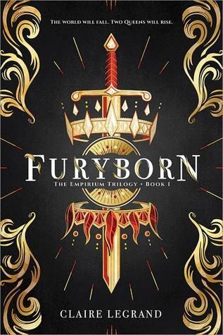 Couverture The Empirium Trilogy, book 1: Furyborn