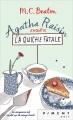 Couverture Agatha Raisin enquête, tome 01 : La Quiche fatale Editions France Loisirs (Piment - Noir) 2017
