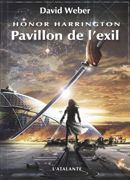 Couverture Honor Harrington (23 tomes), tome 05 : Pavillon de l'exil