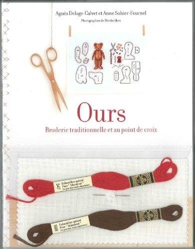Ours : Broderie traditionnelle et au point de croix ...