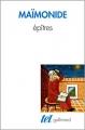 Couverture Epîtres Editions Gallimard  (Tel) 1993