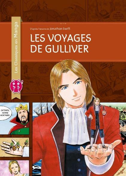 Couverture Les voyages de Gulliver (manga)