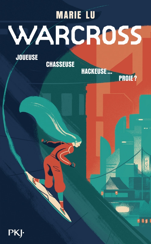Couverture Warcross, tome 1
