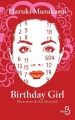 Couverture Birthday girl Editions Belfond 2017