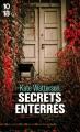 Couverture Secrets enterrés Editions 10/18 2018