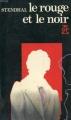 Couverture Le rouge et le noir Editions Garnier Flammarion 1964
