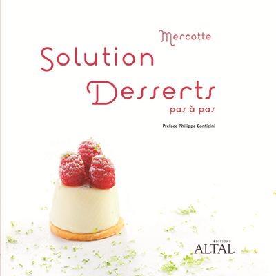 Couverture Solution dessert : Pas à pas