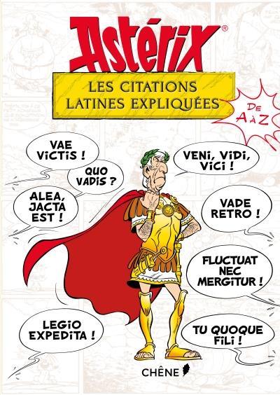 Couverture Astérix les citations latines expliquées