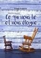 Couverture Ce qui nous lie et nous éloigne Editions La Lampe de Chevet 2017