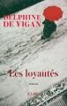 Couverture Les loyautés Editions JC Lattès 2018