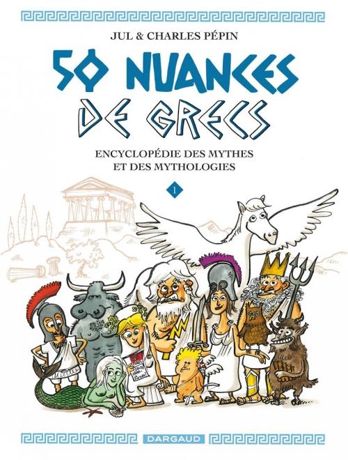 Couverture 50 nuances de grecs, tome 1
