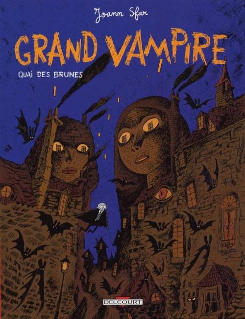 Couverture Grand vampire, tome 4 : Quai des brunes