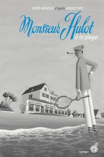 Couverture Monsieur Hulot à la plage