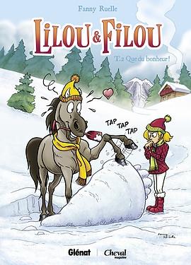 Couverture Lilou & Filou, tome 2 : Que du bonheur !