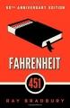 Couverture Fahrenheit 451 Editions Simon & Schuster 2013